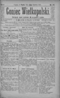 Goniec Wielkopolski: najtańsze pismo codzienne dla wszystkich stanów 1881.06.24 R.5 Nr142