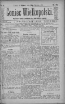 Goniec Wielkopolski: najtańsze pismo codzienne dla wszystkich stanów 1881.06.28 R.5 Nr145