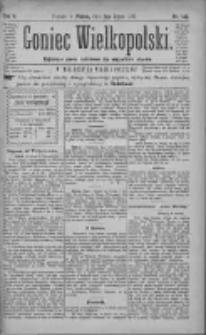 Goniec Wielkopolski: najtańsze pismo codzienne dla wszystkich stanów 1881.07.01 R.5 Nr147