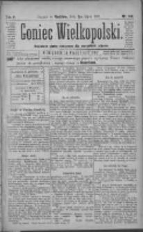 Goniec Wielkopolski: najtańsze pismo codzienne dla wszystkich stanów 1881.07.03 R.5 Nr149