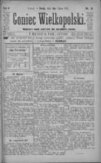 Goniec Wielkopolski: najtańsze pismo codzienne dla wszystkich stanów 1881.07.06 R.5 Nr151