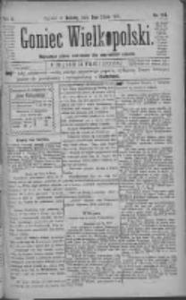 Goniec Wielkopolski: najtańsze pismo codzienne dla wszystkich stanów 1881.07.09 R.5 Nr154
