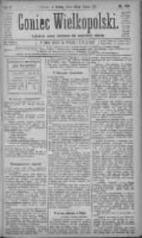 Goniec Wielkopolski: najtańsze pismo codzienne dla wszystkich stanów 1881.07.27 R.5 Nr169