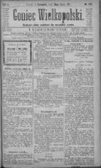Goniec Wielkopolski: najtańsze pismo codzienne dla wszystkich stanów 1881.07.28 R.5 Nr170