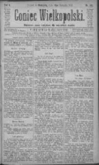 Goniec Wielkopolski: najtańsze pismo codzienne dla wszystkich stanów 1881.08.14 R.5 Nr185