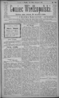 Goniec Wielkopolski: najtańsze pismo codzienne dla wszystkich stanów 1881.08.19 R.5 Nr188
