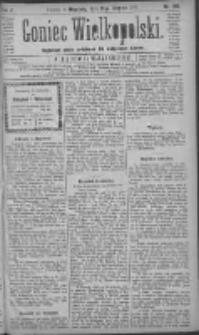 Goniec Wielkopolski: najtańsze pismo codzienne dla wszystkich stanów 1881.08.21 R.5 Nr190