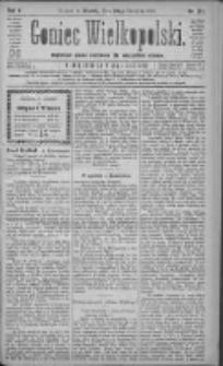 Goniec Wielkopolski: najtańsze pismo codzienne dla wszystkich stanów 1881.08.23 R.5 Nr191