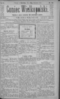 Goniec Wielkopolski: najtańsze pismo codzienne dla wszystkich stanów 1881.08.28 R.5 Nr196