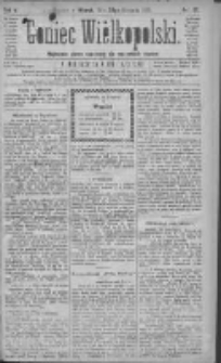 Goniec Wielkopolski: najtańsze pismo codzienne dla wszystkich stanów 1881.08.30 R.5 Nr197