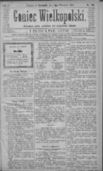 Goniec Wielkopolski: najtańsze pismo codzienne dla wszystkich stanów 1881.09.01 R.5 Nr199