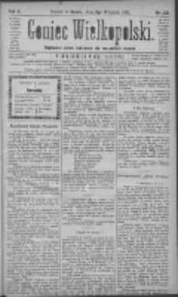 Goniec Wielkopolski: najtańsze pismo codzienne dla wszystkich stanów 1881.09.03 R.5 Nr201