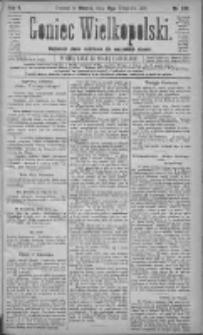 Goniec Wielkopolski: najtańsze pismo codzienne dla wszystkich stanów 1881.09.13 R.5 Nr208