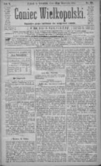 Goniec Wielkopolski: najtańsze pismo codzienne dla wszystkich stanów 1881.09.22 R.5 Nr216