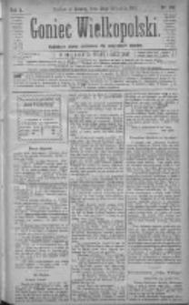 Goniec Wielkopolski: najtańsze pismo codzienne dla wszystkich stanów 1881.09.24 R.5 Nr218