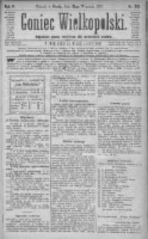Goniec Wielkopolski: najtańsze pismo codzienne dla wszystkich stanów 1881.09.28 R.5 Nr221