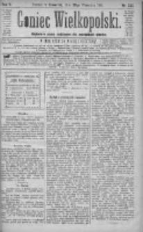 Goniec Wielkopolski: najtańsze pismo codzienne dla wszystkich stanów 1881.09.29 R.5 Nr222