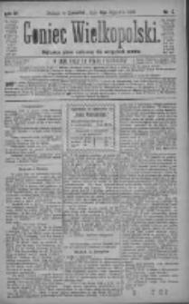 Goniec Wielkopolski: najtańsze pismo codzienne dla wszystkich stanów 1880.01.08 R.4 Nr5