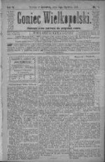 Goniec Wielkopolski: najtańsze pismo codzienne dla wszystkich stanów 1880.01.15 R.4 Nr11