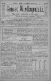 Goniec Wielkopolski: najtańsze pismo codzienne dla wszystkich stanów 1880.01.24 R.4 Nr19
