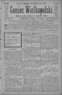 Goniec Wielkopolski: najtańsze pismo codzienne dla wszystkich stanów 1880.01.25 R.4 Nr20