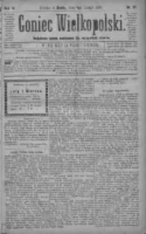 Goniec Wielkopolski: najtańsze pismo codzienne dla wszystkich stanów 1880.02.04 R.4 Nr27
