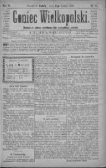 Goniec Wielkopolski: najtańsze pismo codzienne dla wszystkich stanów 1880.02.21 R.4 Nr42