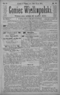 Goniec Wielkopolski: najtańsze pismo codzienne dla wszystkich stanów 1880.03.19 R.4 Nr65