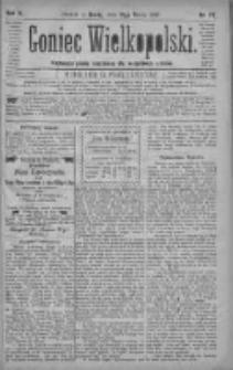 Goniec Wielkopolski: najtańsze pismo codzienne dla wszystkich stanów 1880.03.31 R.4 Nr73