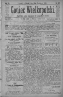 Goniec Wielkopolski: najtańsze pismo codzienne dla wszystkich stanów 1880.04.16 R.4 Nr87