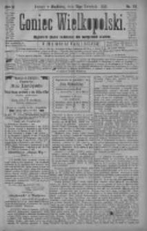 Goniec Wielkopolski: najtańsze pismo codzienne dla wszystkich stanów 1880.04.18 R.4 Nr89