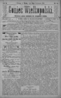 Goniec Wielkopolski: najtańsze pismo codzienne dla wszystkich stanów 1880.04.21 R.4 Nr91