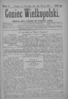 Goniec Wielkopolski: najtańsze pismo codzienne dla wszystkich stanów 1877.03.08 Nr8