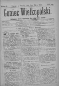 Goniec Wielkopolski: najtańsze pismo codzienne dla wszystkich stanów 1877.03.13 Nr12