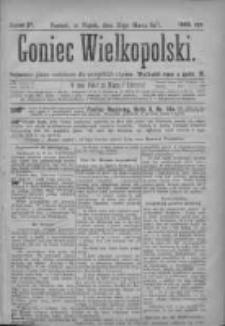 Goniec Wielkopolski: najtańsze pismo codzienne dla wszystkich stanów 1877.03.30 Nr27