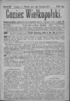 Goniec Wielkopolski: najtańsze pismo codzienne dla wszystkich stanów 1877.04.03 Nr29