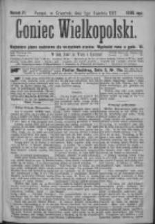 Goniec Wielkopolski: najtańsze pismo codzienne dla wszystkich stanów 1877.04.05 Nr31