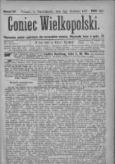 Goniec Wielkopolski: najtańsze pismo codzienne dla wszystkich stanów 1877.04.09 Nr34