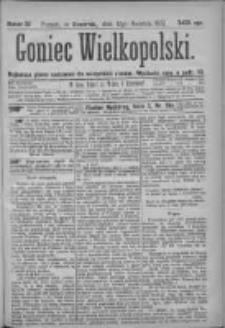 Goniec Wielkopolski: najtańsze pismo codzienne dla wszystkich stanów 1877.04.12 Nr37