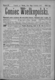 Goniec Wielkopolski: najtańsze pismo codzienne dla wszystkich stanów 1877.04.18 Nr42