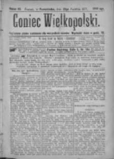 Goniec Wielkopolski: najtańsze pismo codzienne dla wszystkich stanów 1877.04.23 Nr46