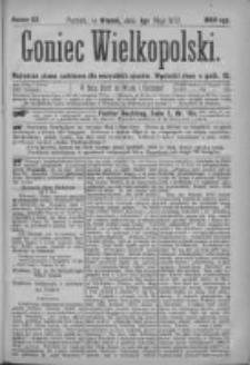 Goniec Wielkopolski: najtańsze pismo codzienne dla wszystkich stanów 1877.05.01 Nr53