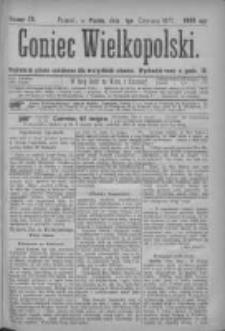 Goniec Wielkopolski: najtańsze pismo codzienne dla wszystkich stanów 1877.06.01 Nr76