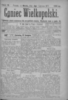Goniec Wielkopolski: najtańsze pismo codzienne dla wszystkich stanów 1877.06.05 Nr79