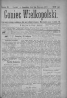 Goniec Wielkopolski: najtańsze pismo codzienne dla wszystkich stanów 1877.06.07 Nr81