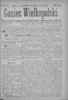 Goniec Wielkopolski: najtańsze pismo codzienne dla wszystkich stanów 1877.06.14 Nr87