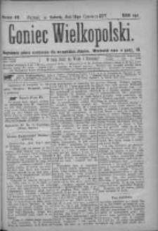 Goniec Wielkopolski: najtańsze pismo codzienne dla wszystkich stanów 1877.06.16 Nr89