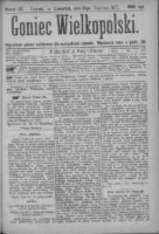 Goniec Wielkopolski: najtańsze pismo codzienne dla wszystkich stanów 1877.06.21 Nr93
