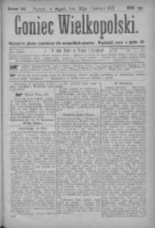 Goniec Wielkopolski: najtańsze pismo codzienne dla wszystkich stanów 1877.06.22 Nr94