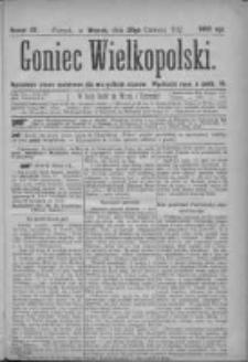 Goniec Wielkopolski: najtańsze pismo codzienne dla wszystkich stanów 1877.06.26 Nr97